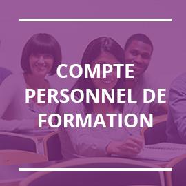 Formez-vous grâce à votre Compte Personnel de Formation (CPF)