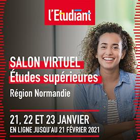 L'IAE Caen sera présent au salon virtuel de l'étudiant !