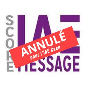 Le test Score IAE message ne sera pas demandé pour l'IAE Caen