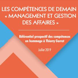 Référentiel prospectif sur les compétences Management & affaires
