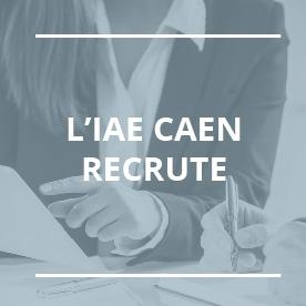 L'IAE Caen recherche un(e) assistant(e) e-formation !
