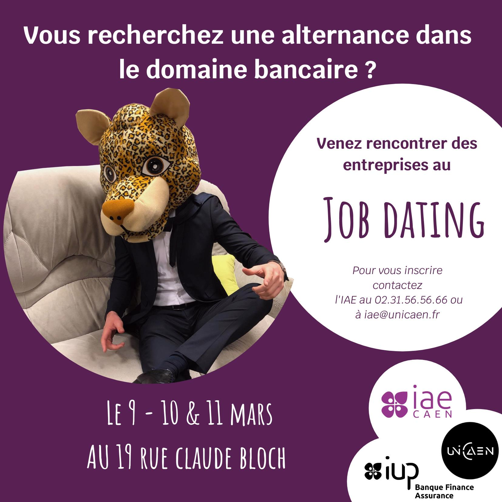 Job dating Filière Banque, Finance, Assurance