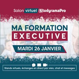 """Salon """"Formation continue"""" 100% en ligne - 26 janvier"""