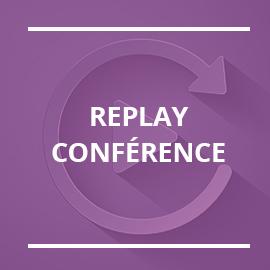 Retrouvez les replays de nos conférences formation !