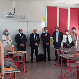 Nouveau partenariat avec le lycée Le Verrier de Saint-Lô