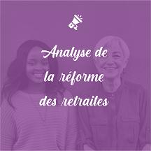 Analyses de la réforme des retraites par Claire El Moudden
